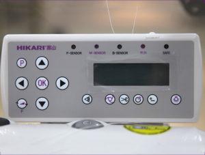máy vắt sổ điện tử hikari